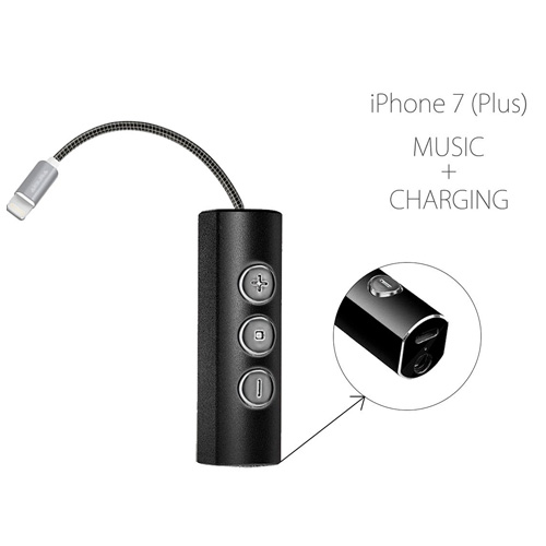 iPhone 7 Lightning jack charger adapter